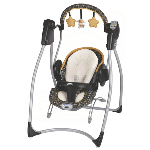 graco duo 2 in 1 plug in swing and bouncer in flare 15274845 shopping big. Black Bedroom Furniture Sets. Home Design Ideas