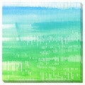 Blue to Green Oversized Gallery Wrapped Canvas