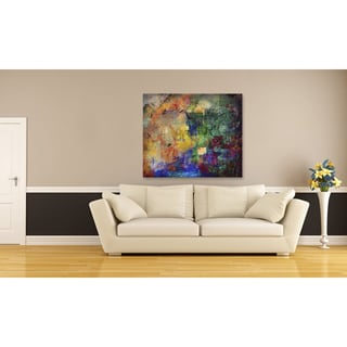 Playful II Oversized Gallery Wrapped Canvas