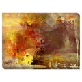 Ablaze I Oversized Gallery Wrapped Canvas