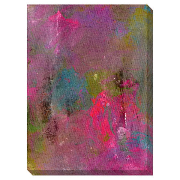 Bright Oversized Gallery Wrapped Canvas