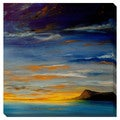 Distant Mountain Oversized Gallery Wrapped Canvas
