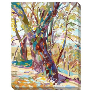 Abstract Tree Oversized Gallery Wrapped Canvas