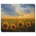 Sun Harmony Oversized Gallery Wrapped Canvas
