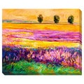 Colorful Landscape Oversized Gallery Wrapped Canvas