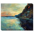 Ocean Cliff Oversized Gallery Wrapped Canvas