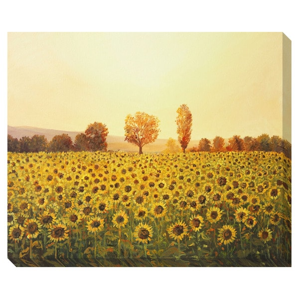Memories of Summer Oversized Gallery Wrapped Canvas