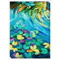 Water Lily II Oversized Gallery Wrapped Canvas