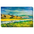 River to the Mountains Oversized Gallery Wrapped Canvas