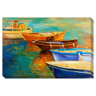 Boats Oversized Gallery Wrapped Canvas