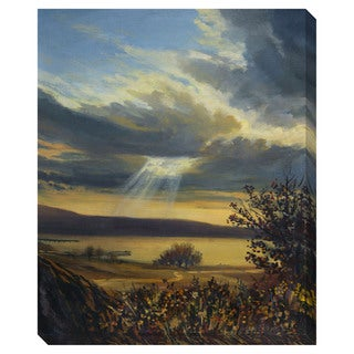 Ray of Light Oversized Gallery Wrapped Canvas