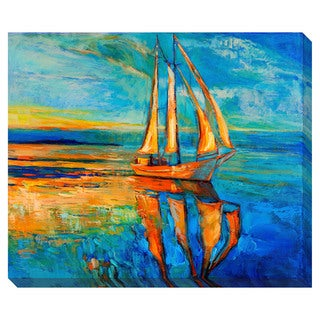 Sailing Ship Oversized Gallery Wrapped Canvas