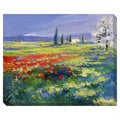 Fields of Summer Oversized Gallery Wrapped Canvas