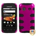 MYBAT Pink/ Black Fishbone Case for Samsung Galaxy Prevail M820