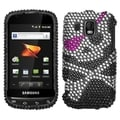 MYBAT Skull Diamante Case for Samsung M930 Transform Ultra