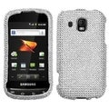 MYBAT Silver Diamante Case for Samsung M930 Transform Ultra