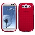MYBAT Red Argyle Case for Samsung Galaxy S III/ S3