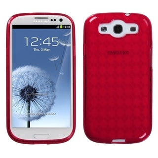 MYBAT Red Argyle Case for Samsung Galaxy S III/ S3