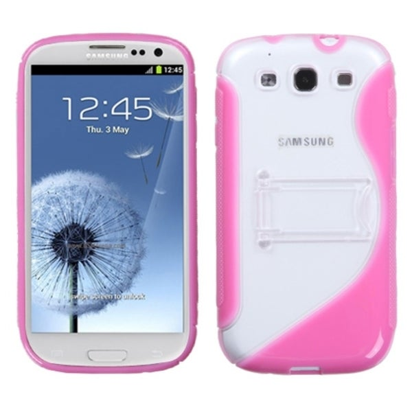 INSTEN Hot Pink S Phone Case Cover for Samsung Galaxy S III/ S3