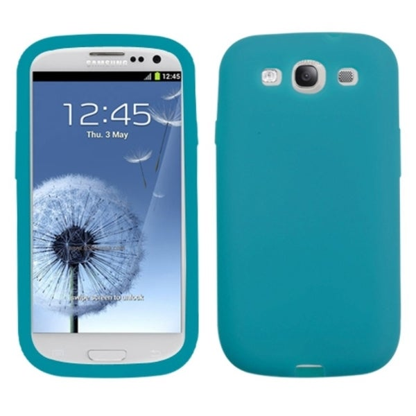 INSTEN Tropical Teal Phone Case Cover for Samsung Galaxy S III/ S3