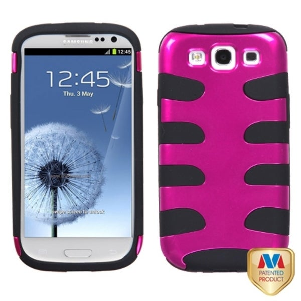 MYBAT Pink/ Black Case for Samsung Galaxy S III/ S3 MyBat Cases & Holders