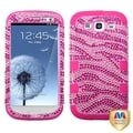 MYBAT Zebra/ Pink Case for Samsung Galaxy S III/ S3