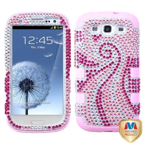 MYBAT Pink Phoenix Tail Case for Samsung Galaxy S III/ S3