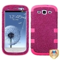 MYBAT Hot Pink Diamante Case for Samsung Galaxy S III/ S3