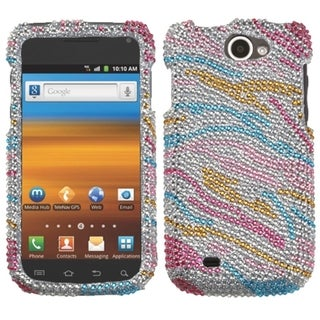 MYBAT Zebra Diamante Case for Samsung T679 Exhibit II 4G