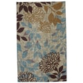 Indoor/Outdoor Angelica Floral Rug (5' x 8')