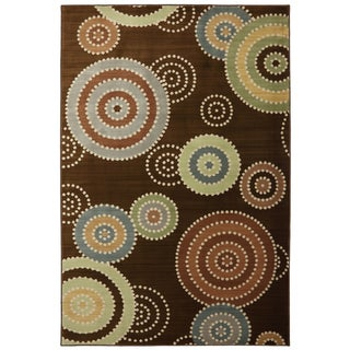 Brandon Brown Medallion Rug (8' x 10')