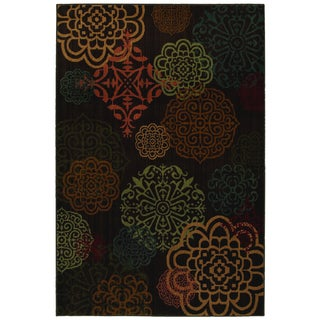 Darby Brown Medallion Rug (8' x 10')