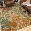 Indoor/Outdoor Angelica Floral Rug (8&#39; x 10&#39;)