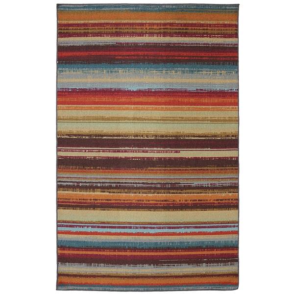 Indoor/Outdoor Metro Stripe Rug (5' x 8')