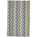 Indoor/Outdoor Parisian Chevron Rug (8' x 10')