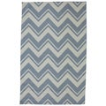 Indoor/Outdoor Summer Chevron Rug (8' x 10')