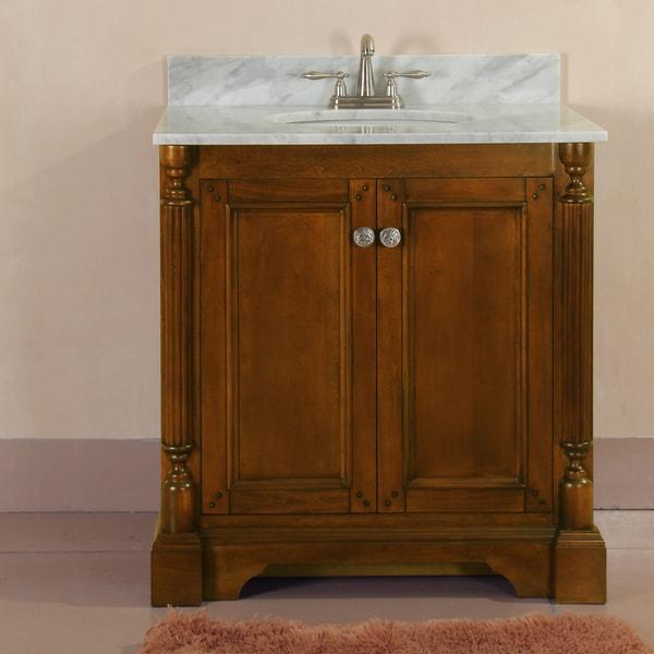 megan 31 inch single sink vanity set 15275314