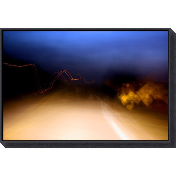 Andy Magee 'Heading Home' Framed Art Canvas