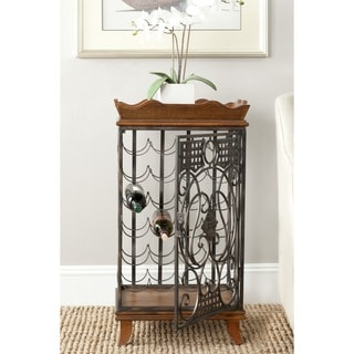Safavieh Robin Brown Wine Rack