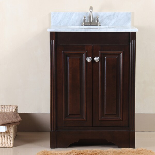 austen 25 inch single sink vanity set overstock