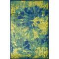 Skye Monet Island Blue Rug (7'7 x 10'5)