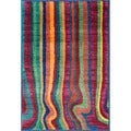 Skye Monet Multi Stripe Rug (2'0 x 3'0)