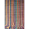 Skye Monet Multi Stripe Rug (3'9 x 5'2)