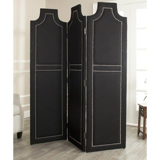 Safavieh Darcy Black 3-piece Folding Screen