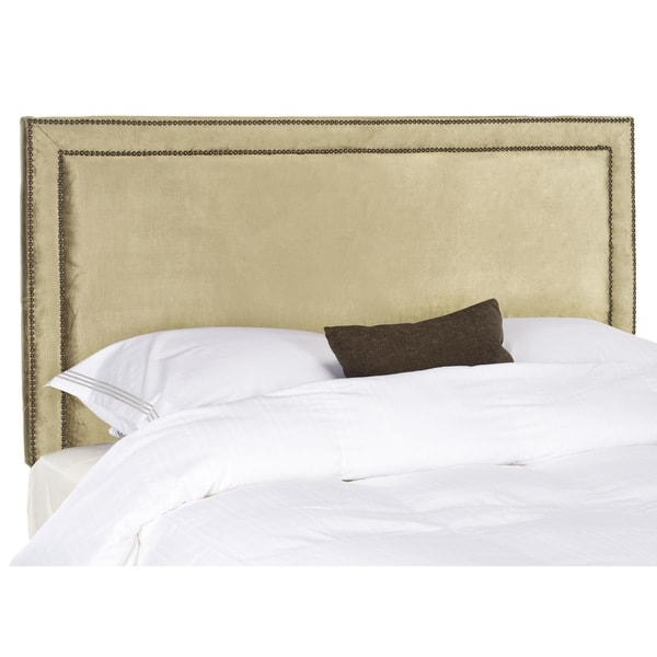 Safavieh Cory Champagne Gold Full Headboard