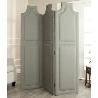 Safavieh Darcy Seamist Grey 3-piece Folding Screen