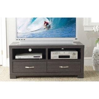 Safavieh Monroe Storage Dark Grey 2-drawer TV Cabinet