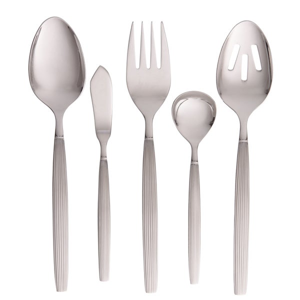 Denby Vertical 5-piece Stainless Steel Hostess Set
