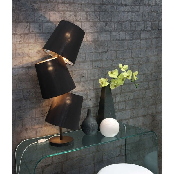 Black Cosmology Table Lamp