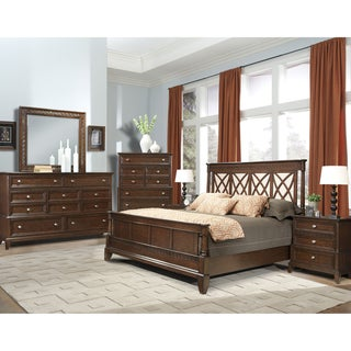 Vaughan Jackson Square 4-Piece Queen Bedroom Set
